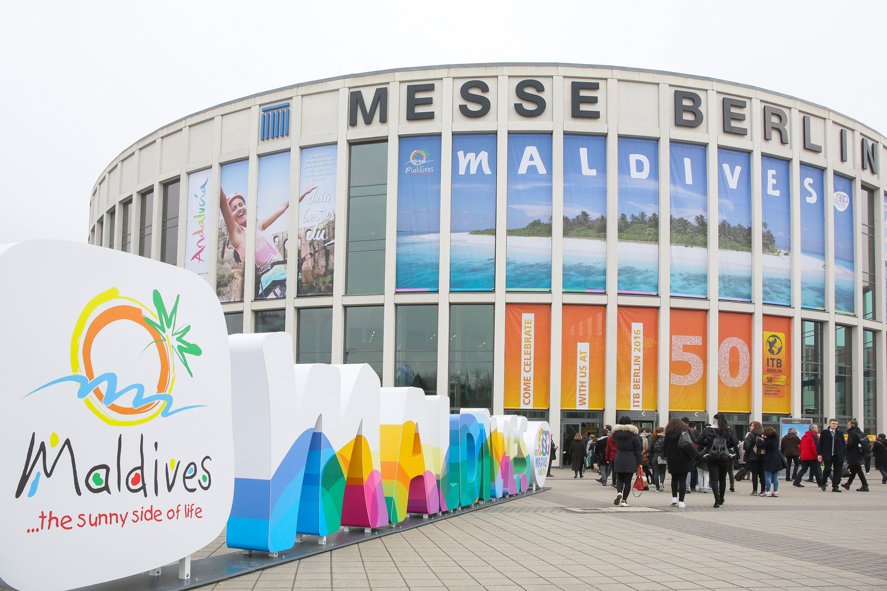 ITB Berlin 2016 - Eingang Süd -